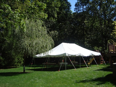 Pkg B - 20u0027 x 30u0027 & Fiesta Tent Rental